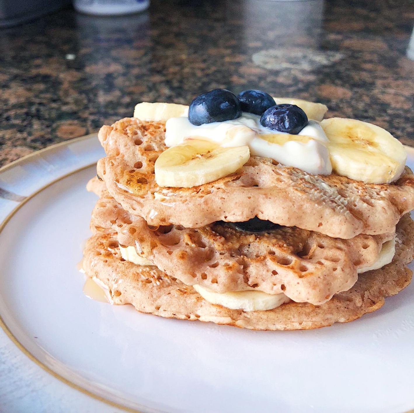 Easy Vegan Fluffy Pancakes