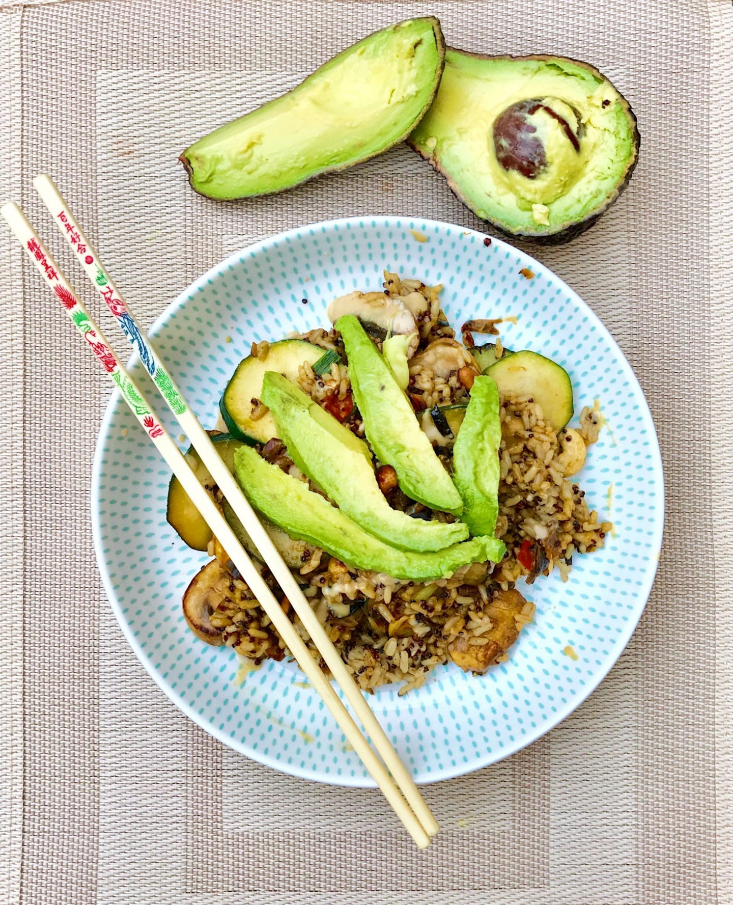 Vegan Chinese Fried Rice- A Healthy Alternative