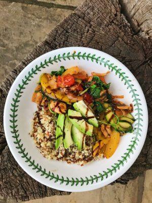 National Healthy Eating Week Day 4: Easy Ratatouille Stir fry