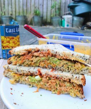 "Vegan Chickpea ""Tuna"" Sandwich"