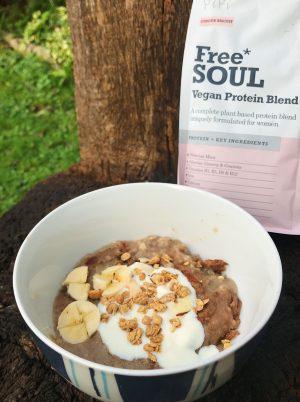 Protein Porridge Bake (Ginger Spiced)