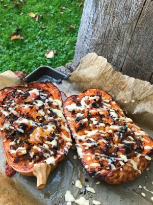 Roasted Stuffed Butternut Squash (Christmas Collection)