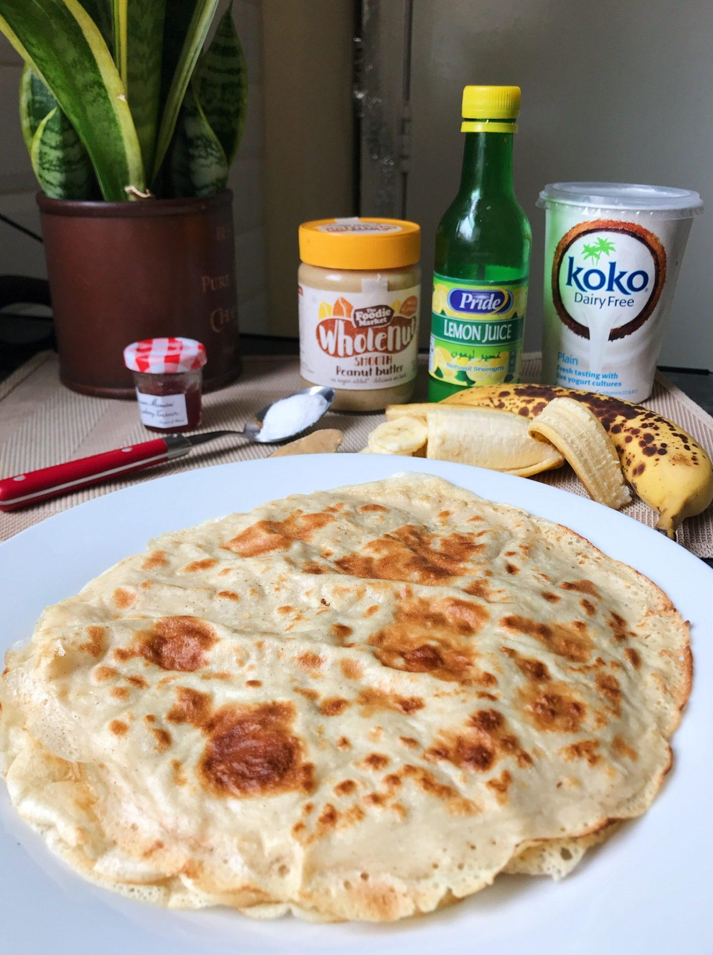 Easy Vegan Crepes- 5 simple ingredients only!