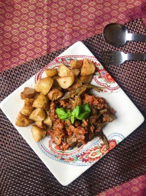 Greek Okra Stew (Bamia) (Ve)