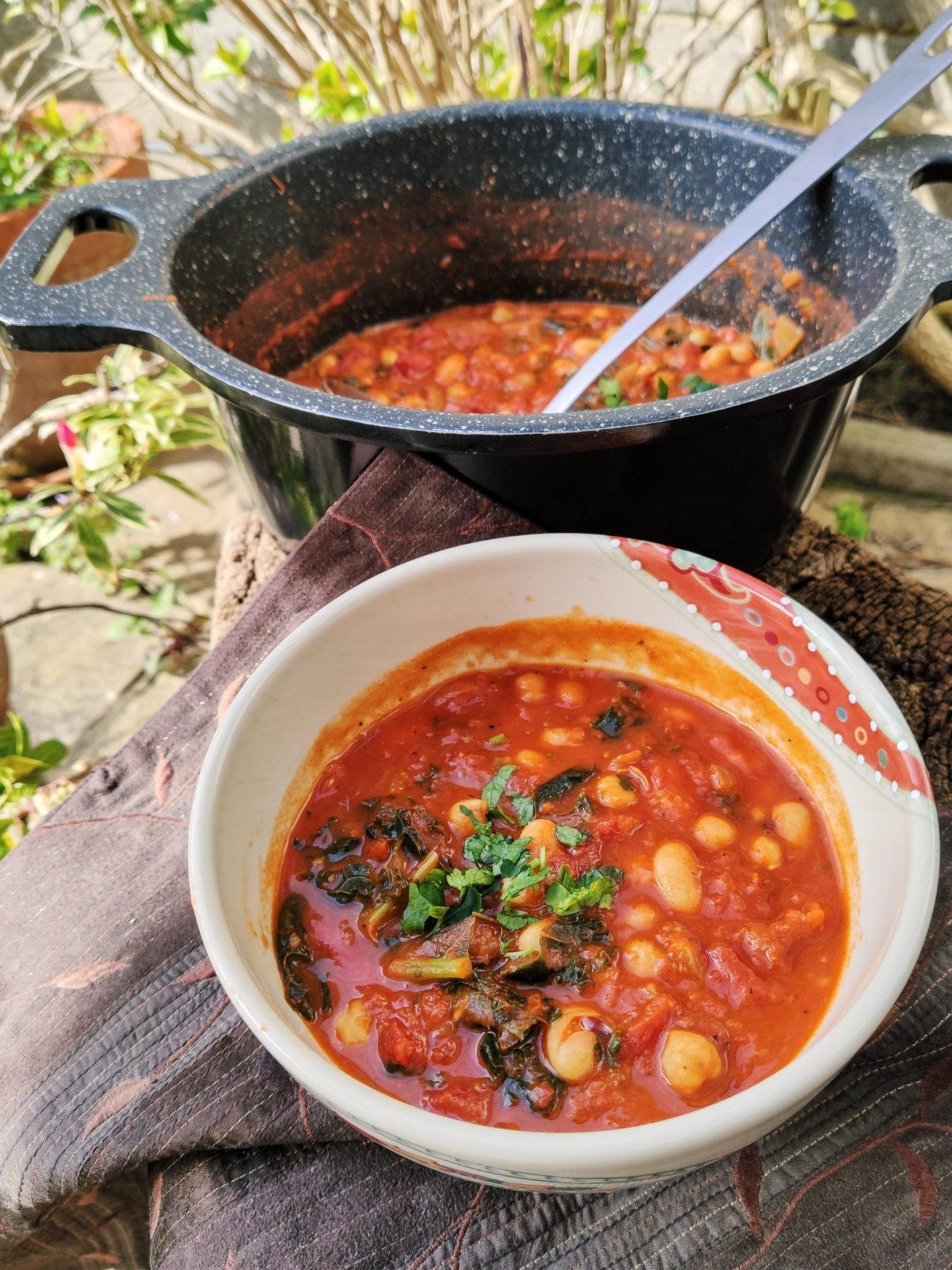 Vegan chipotle bean soup recipe