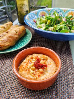 Sundried Tomato Hummus (Ve)