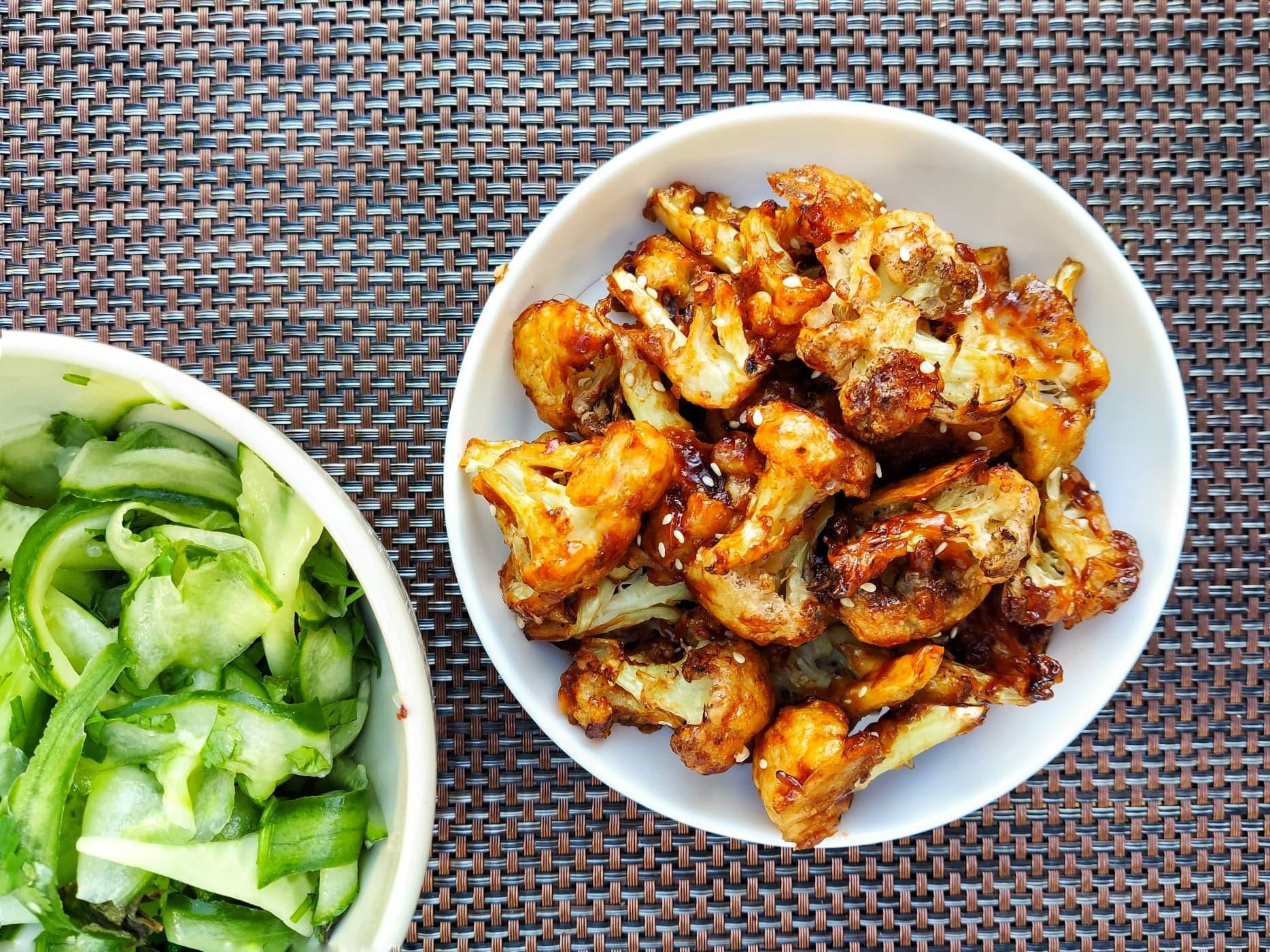 Korean Style Cauliflower Wings (Ve)