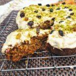 tahini carrot cake recipe