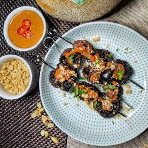 Mushroom Satay Skewers (Ve)