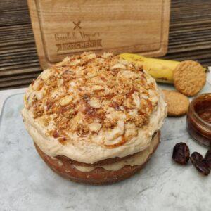 Vegan Banoffee Cake